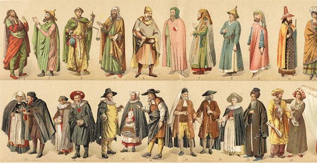 09b0546df Algumas curiosidades sobre a incrível história das roupas